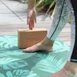 Myga Palm Print Yoga Mat