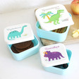 Lisa Angel Kids Sass & Belle Set of 3 Roarsome Dinosaurs Lunch Boxes