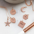 Personalised 'Take Me With You' Jewellery Charm Set and Travel Case