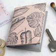 Lisa Angel Ladies' Pink Palm Print Travel Card Holder