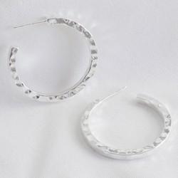 9d222b6966a3cf Silver Ring Gents SilverEarringsSmallHoops Product ID t
