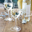 Ladies' 'Bride to Be' Wine Glass