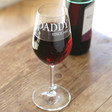 Lisa Angel Engraved 'Daddy Since' Wine Glass