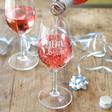 Lisa Angel 'Team Bride' Wine Glass