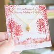 Lisa Angel Gold Hedgehog Necklace with Charity Donation