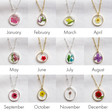 Lisa Angel Delicate Real Pressed Flower Pendant Necklaces