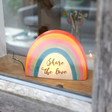 Lisa Angel Personalised Rainbow LED Night Light