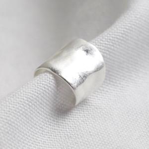 Silver Long Earcuff