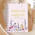 Lisa Angel Ladies' Personalised 'Happy Mind Happy Life' Positivity Planner