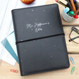 Lisa Angel Personalised 'Teacher' Faux Leather Refillable Notebook