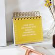 Lisa Angel Mindful Positive Affirmations Desktop Flip Book