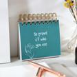 Lisa Angel Special Positive Affirmations Desktop Flip Book