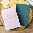 Lisa Angel Pink and Green Two Way 'Morning and Night' Notebooks