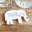 Lisa Angel 'Good Friends' Elephant Ring Dish