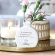 Lisa Angel 'Life Isn't About Waiting' Flower Bud Vase