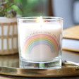 Lisa Angel 'Positive Vibes' Rainbow Scented Candle