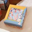 Teen's House of Disaster Eden 'Blue' Floral Socks