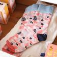 Lisa angel Ladies' House of Disaster Eden 'Pink' Socks