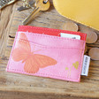 Lisa Angel Ladies' House of Disaster Heritage & Harlequin Butterfly Card Holder