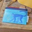 Lisa Angel House of Disaster Heritage & Harlequin Monkey Card Holder