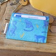 Ladies' House of Disaster Heritage & Harlequin Monkey Card Holder
