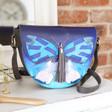 Lisa Angel House of Disaster Papillon Saddle Bag