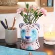 Lisa Angel House of Disaster Savannah Leopard Pot