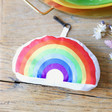Unisex Reusable Rainbow Shopper Bag