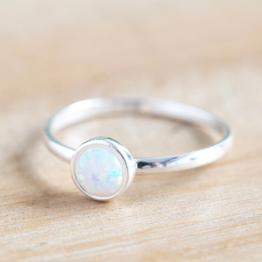 Opal Ring Sterling silver