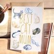 Lisa Angel Cute 'Best Cat Mum' Greeting Card