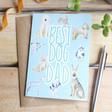 Lisa Angel 'Best Dog Dad' Greeting Card