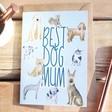 Lisa Angel Cute 'Best Dog Mum' Greeting Card