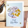 Lisa Angel Pretty 'Best Step Mum' Greeting Card