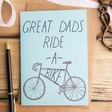 Lisa Angel 'Great Dads Ride a Bike' Father's Day Card