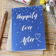 Lisa Angel 'Happily Ever After' Wedding Greeting Card