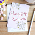 Lisa Angel 'Happy Easter' Greeting Card