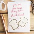 Lisa Angel Cute 'Sliced Bread' Valentine's Card