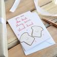 Lisa Angel 'Sliced Bread' Valentine's Card