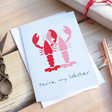 Lisa Angel 'You're My Lobster' Valentine's Day Card