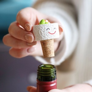 California Roll Sushi Cork Bottle Stopper