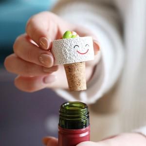 California Roll Sushi Cork Bottle Stopper