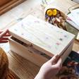 Lisa Angel Ladies' Personalised Wildflower Hamper Box