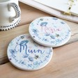 Lisa Angel Floral Ceramic Coasters