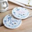 Lisa Angel Floral Ceramic Coasters