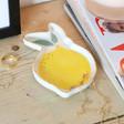 Lisa Angel Ladies' Lemon Trinket Dish