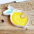 Lisa Angel Ladies' Personalised Name Lemon Trinket Dish