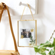 Women's Dried Flowers Hanging Frame
