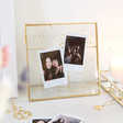 Lisa Angel Ladies' Gold Speckled Glass Photo Frame