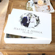 Lisa Angel Couples Personalised 'Your Photo' Large White Wooden Box