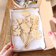 Ladies' Wooden Flower Bouquet Letterbox Gift
